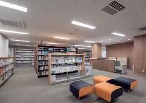 B館1F図書室