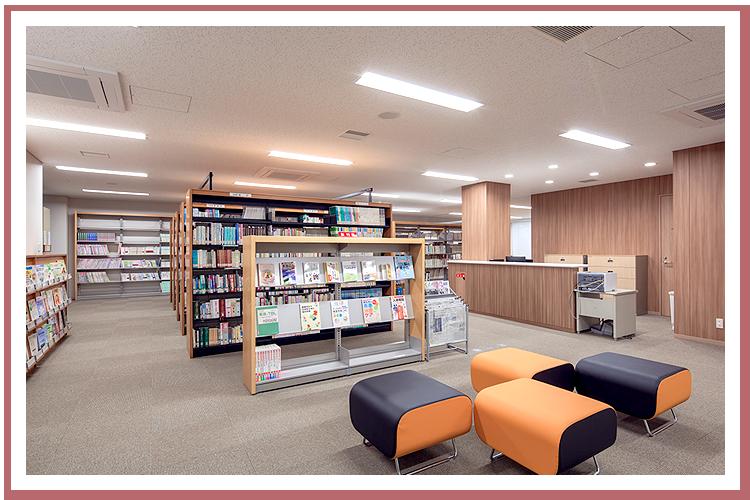 1F 図書室