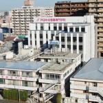 戸田中央総合病院側から見た新校舎